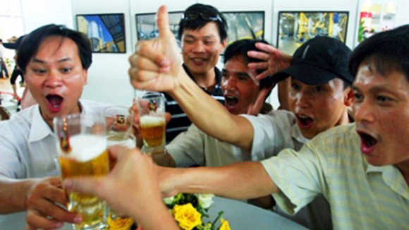 Image result for drunk viet men