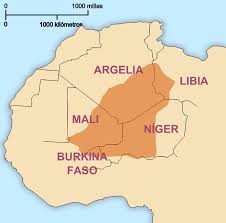 Image result for tuareg map