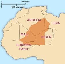 Image result for tuareg map