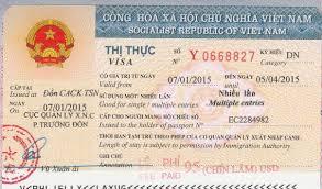 Image result for Vietnamese work visa