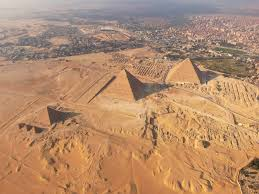 Image result for aerial view of pyramids
