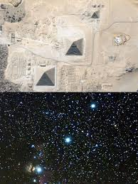 Image result for orion constellation and pyramids