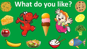 What do you like? Learn food vocabulary | English Lesson 11 - YouTube