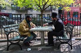 Brooklyn, NY - Alphabet City Chess Match Photo Captures Moment Of ...