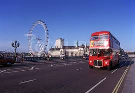 London Bus and London Eye
