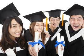 happy asian students graduating | Luu Tutoring