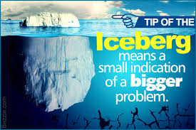 The Unusual Meaning and Origin of the Idiom 'Tip of the Iceberg ...