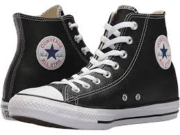 Converse Chuck Taylor® All Star® Leather Hi | Zappos.com
