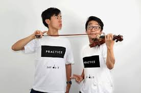 TwoSet Violin Perfects Their Practice