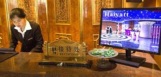 Welcome to the Haiyatt; in China, it's not the hotel it sounds like
