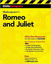 CliffsComplete Shakespeare's Romeo and Juliet: Complete Study Edition (Cliffs  Notes): Amazon.co.uk: Shakespeare, William, Jacobson, Karin, Lamb, Sidney:  0785555026179: Books