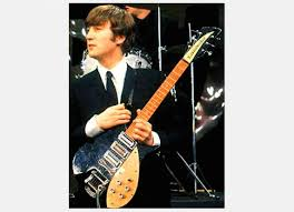 John's Rickenbackers | John lennon beatles, John lennon guitar, Beatles  guitar
