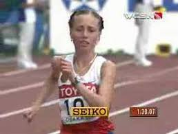 Russians finish 1-2 in women's race walk - YouTube