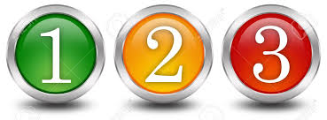 Numbers One Two Three 1 2 3 Stock Photo, Picture And Royalty Free Image.  Image 8101098.