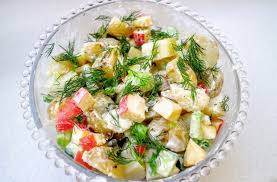 Swedish Potato Salad · How To Cook A Potato Salad · Recipes on Cut Out +  Keep