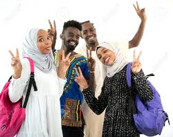 Image result for happy african students